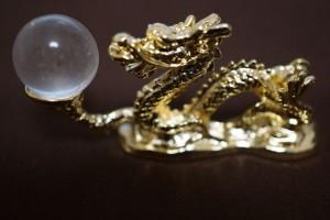 ヒマラヤ水晶の丸玉